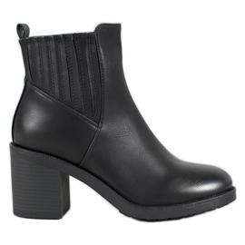 Super Mode Cizme casual pentru glezne negru