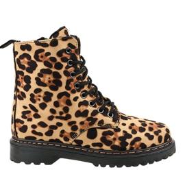 Cizme izolate Leopard DJH01-18