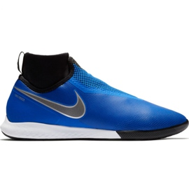 Pantofi de fotbal Nike React Phantom Vsn Pro Df Ic M AO3276 400 negru, albastru