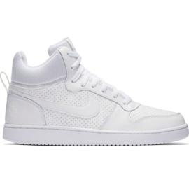 Pantofi Nike Court Borough Mid M 838938 111 alb