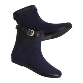 Cizme pentru femei Wellingtons albastru bleu marine K1890101 Marino bleumarin