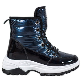SHELOVET Cizme de zăpadă sport albastru