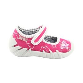 Încălțăminte pentru copii Befado 109P165 roz gri