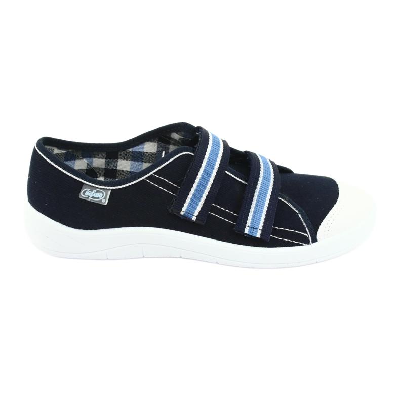 Încălțăminte pentru copii Befado 672Y049 albastru marin albastru