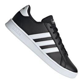 Pantofi Adidas Grand Court Jr EF0102 negru