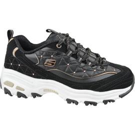 Pantofi Skechers D'Lites W 13087-BKRG negru