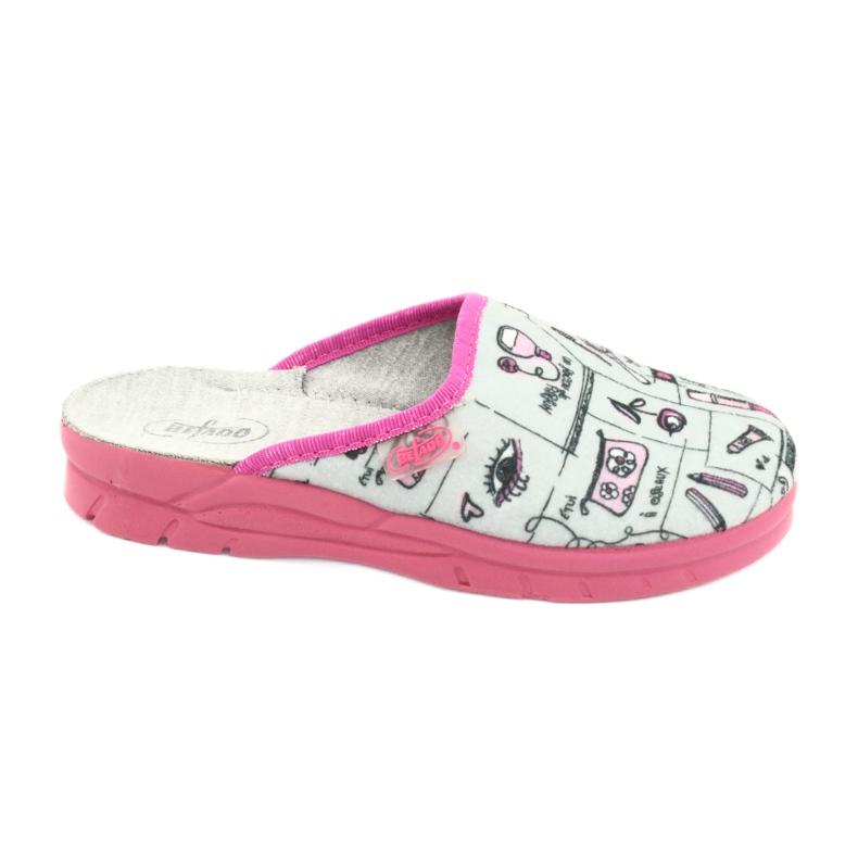 Încălțăminte pentru copii Befado 708X002 roz gri