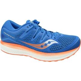 Saucony Triumph Iso 5 M S20462-36 pantofi de alergare albastru