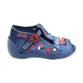 Încălțăminte pentru copii Befado 217P101 roșu albastru marin albastru