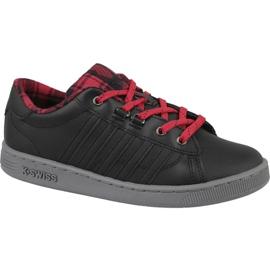 Pantofi K-Swiss Hoke Plaid Jr 85111-050 negru