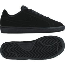Pantofi Nike Court Royale Gs Jr 833535-001 negru