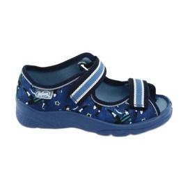 Pantofi pentru copii Befado 969X141 albastru marin albastru