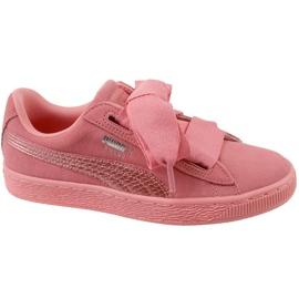 Pantofi Puma Suede Heart Snk Jr 364918-05 roz