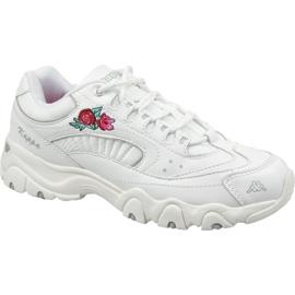 Pantofi Kappa Felicity Romance W 242678-1010 alb