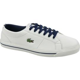 Pantofi Lacoste Riberac 119 Jr 737CUJ0020WN1 alb