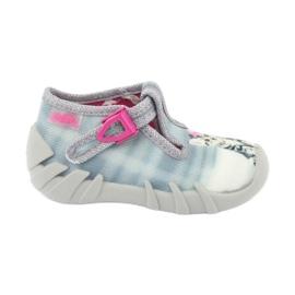 Încălțăminte pentru copii Befado 110P365 roz gri multicolor