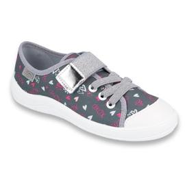 Încălțăminte pentru copii Befado 251Y138 roz gri multicolor