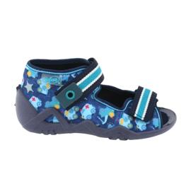 Încălțăminte pentru copii Befado 250P090 albastru marin albastru multicolor