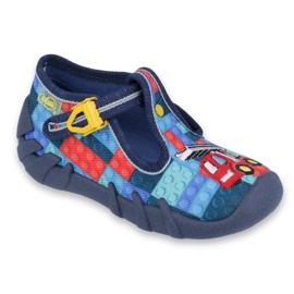 Încălțăminte pentru copii Befado 110P373 roșu albastru multicolor