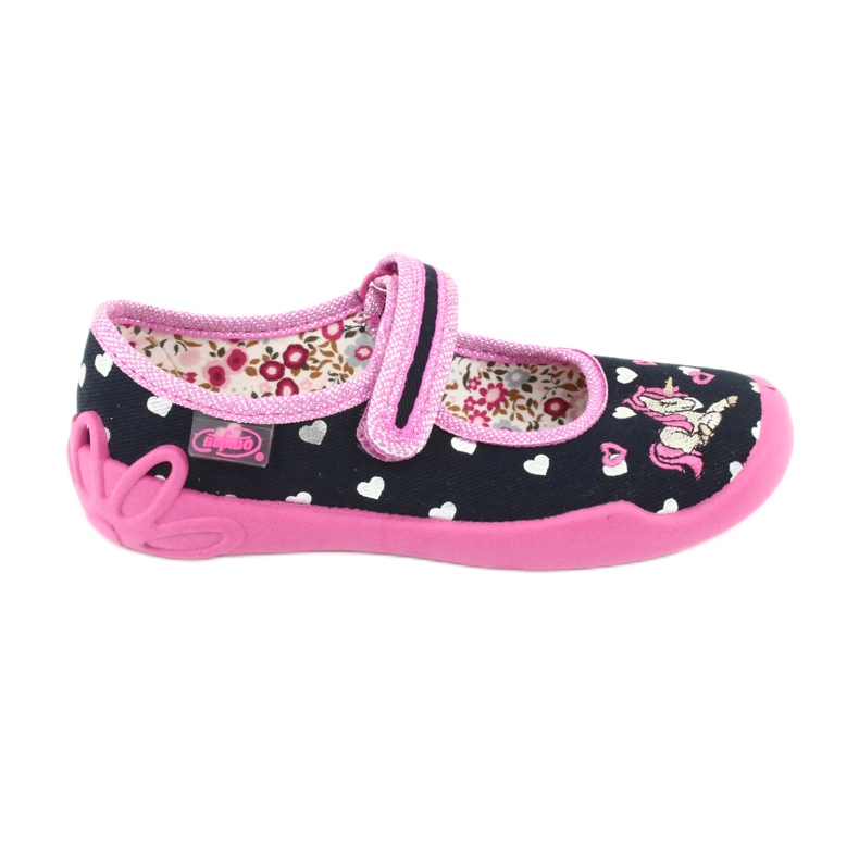 Încălțăminte pentru copii Befado 114X355 negru roz multicolor