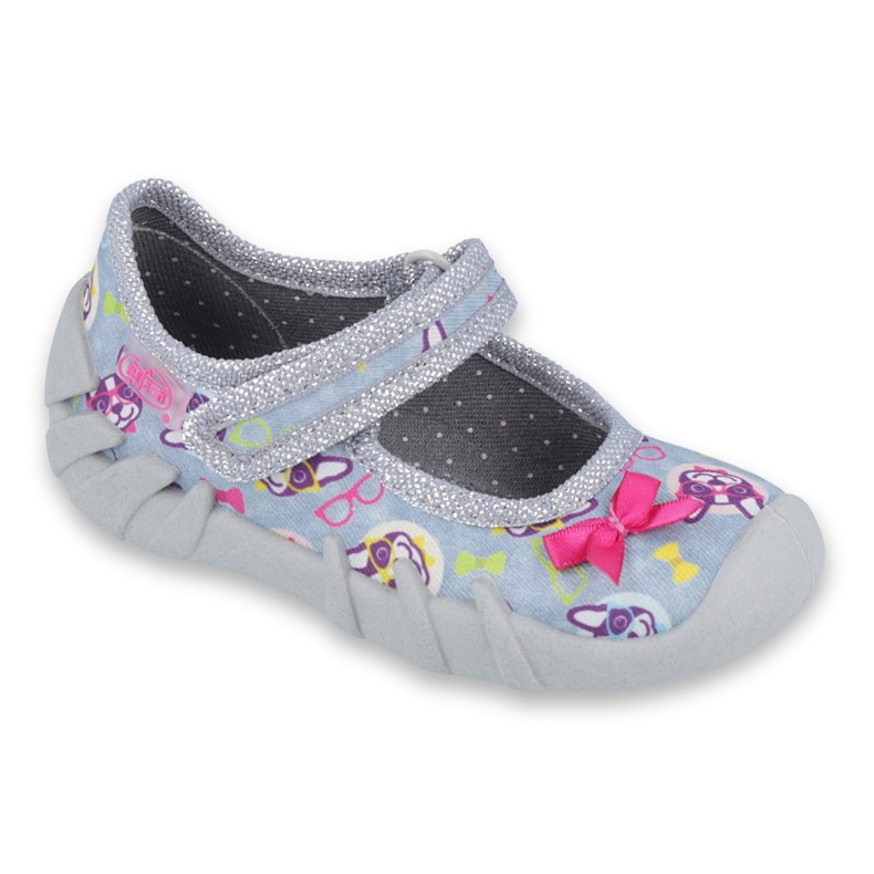 Încălțăminte pentru copii Befado 109P192 roz gri multicolor