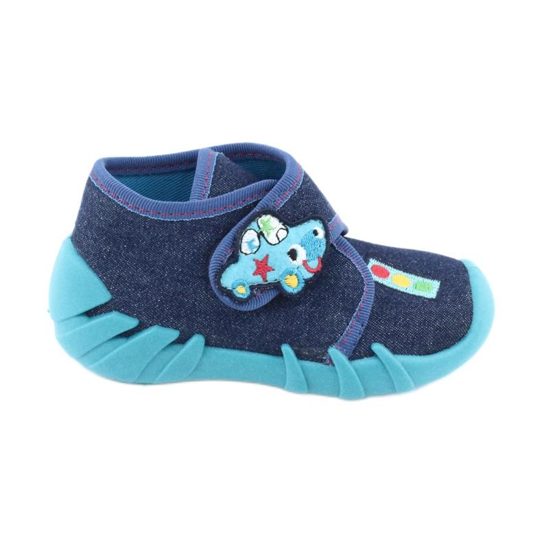 Încălțăminte pentru copii Befado 523P015 albastru marin albastru