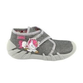Încălțăminte pentru copii Befado 523P016 roz argint gri