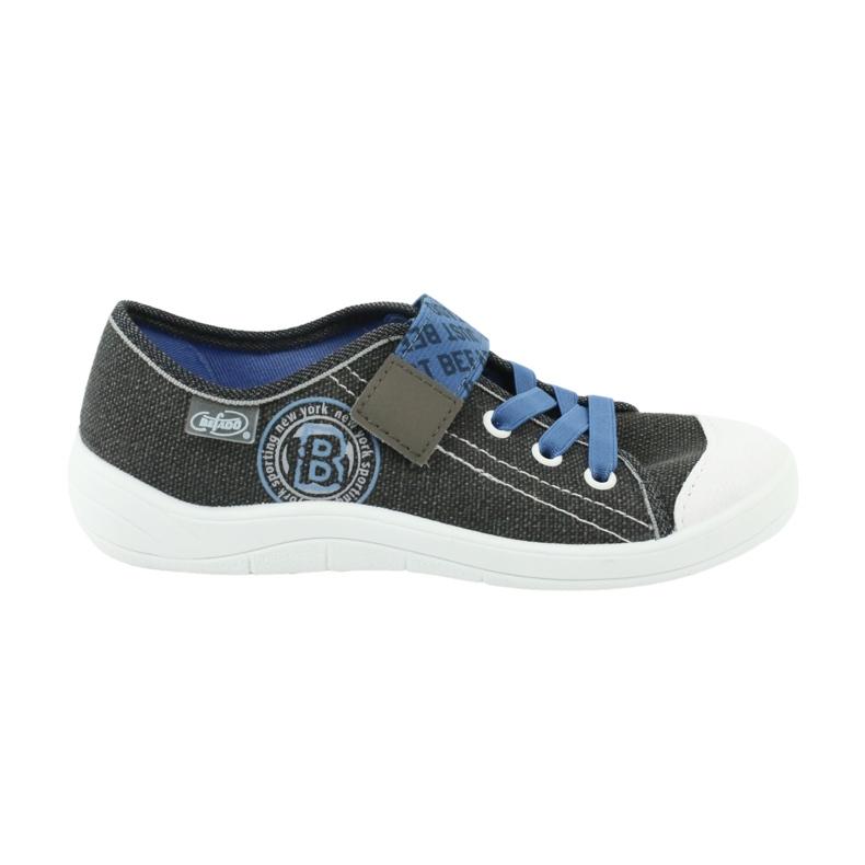 Încălțăminte pentru copii Befado 251Y129 albastru gri