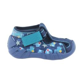Sandale pentru copii Befado 190P090 albastru marin albastru