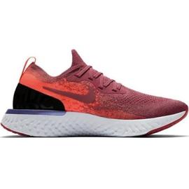 Pantofi de alergare Nike Epic React Flyknit W AQ0070 601 roșu