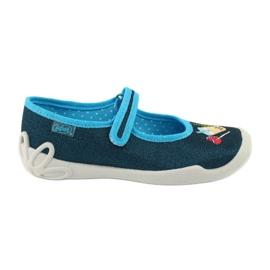 Încălțăminte pentru copii Befado 114Y385 albastru marin albastru