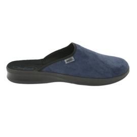 Befado bărbați pantofi pu 548M018 negru bleumarin