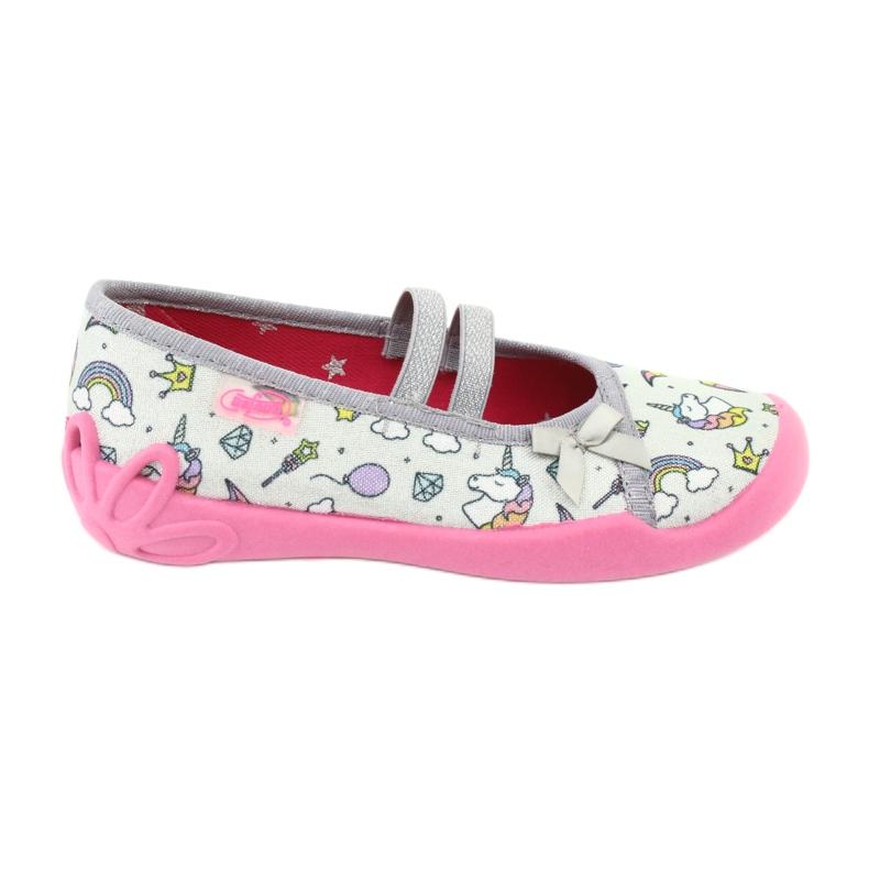 Încălțăminte pentru copii Befado 116X266 roz gri