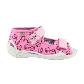 Încălțăminte pentru copii Befado 242P103 roz gri