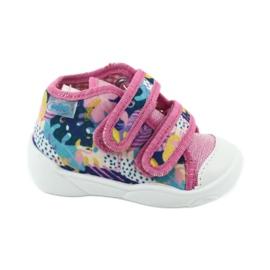 Pantofi pentru copii Befado portocalii 212P064 roz multicolor