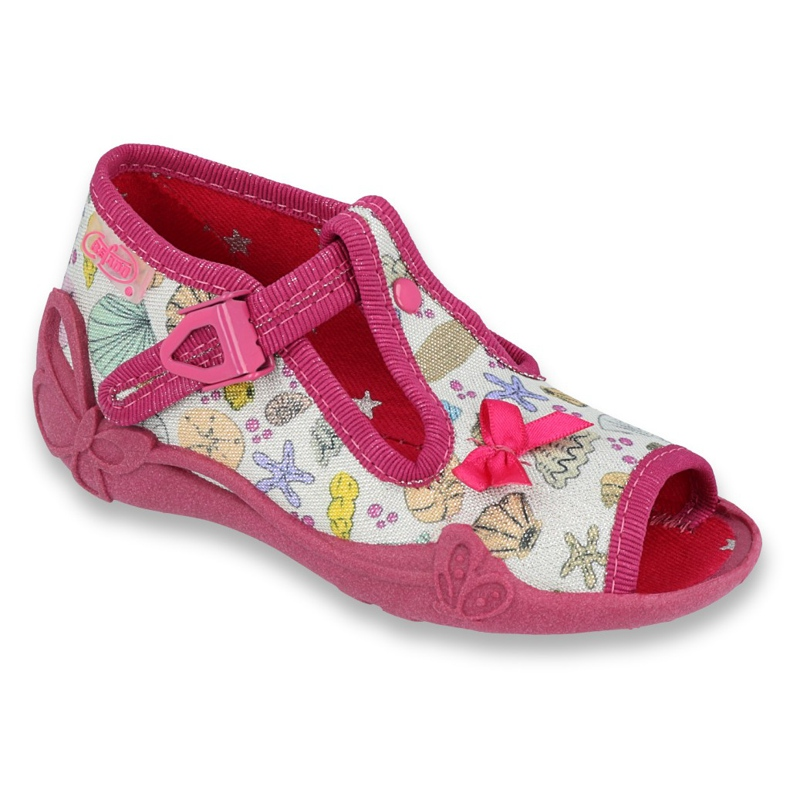 Încălțăminte pentru copii Befado 213P117 roz multicolor