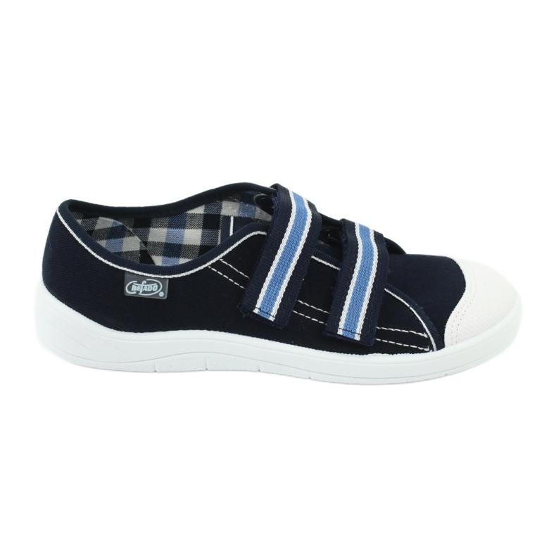 Încălțăminte pentru copii Befado 672Y049 alb albastru marin albastru