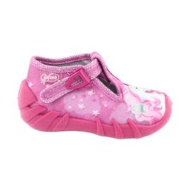 Încălțăminte pentru copii Befado 110P364 roz gri
