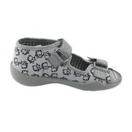 Încălțăminte pentru copii Befado 242P102 roz gri