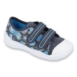 Încălțăminte pentru copii Befado 907P104 albastru gri multicolor