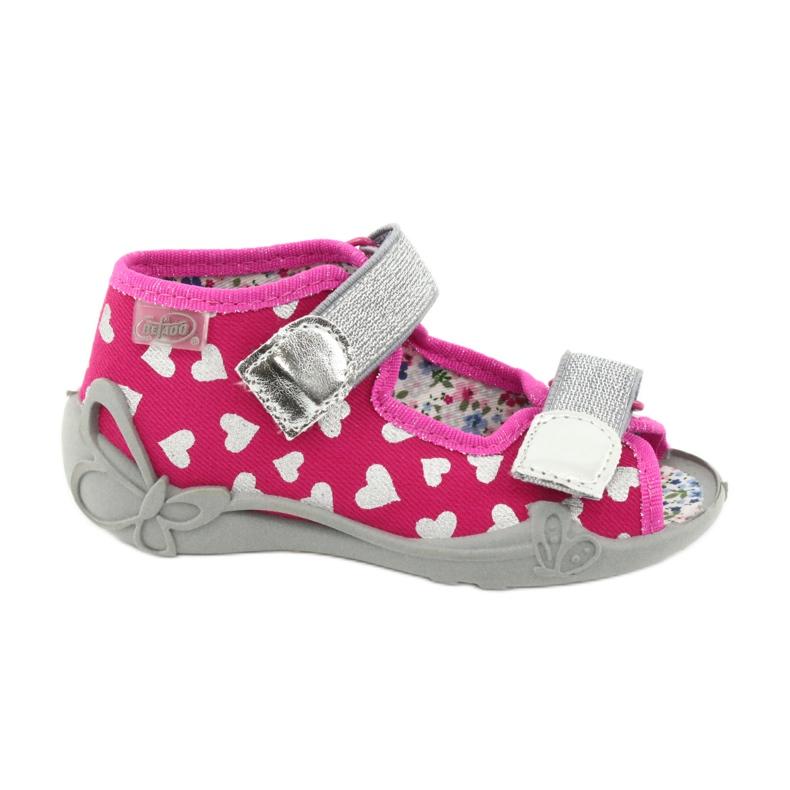 Încălțăminte pentru copii Befado 242P104 roz gri