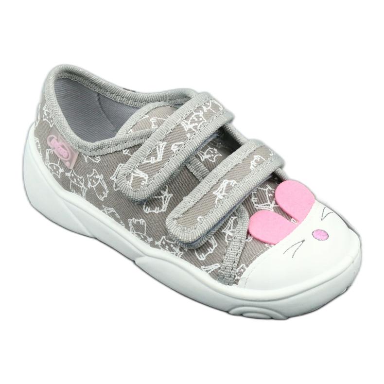 Încălțăminte pentru copii Befado 907P116 roz gri