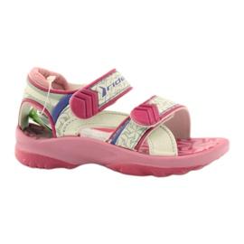 """Pantofi pentru copii sandale pentru copii Rider 80608 [""""nuanțe de roz"""", """"nuanțe de gri și argint"""", """"biel""""]"""