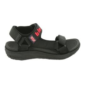 Sandale cu insertie din spuma Lee Cooper 19S-TS-043 negru