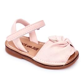 FRROCK Sandale pentru copii cu Velcro Pink Goofy roz