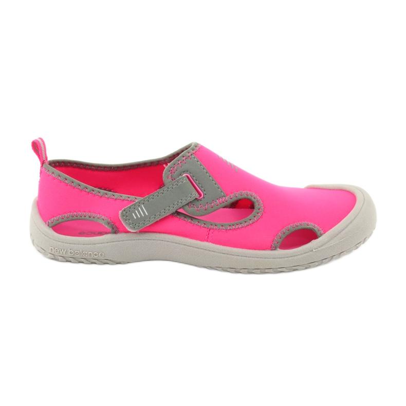 Sandale New Balance Sandal K K2013PKG negru roșu roz gri