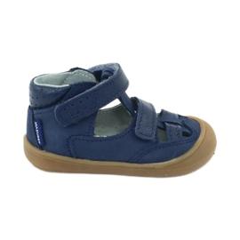Sandale napi băieți Mazurek 1187 bleumarin albastru marin