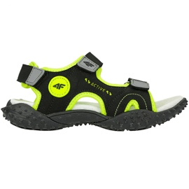 Sandale 4F Jr HJL20 JSAM001 21S negru