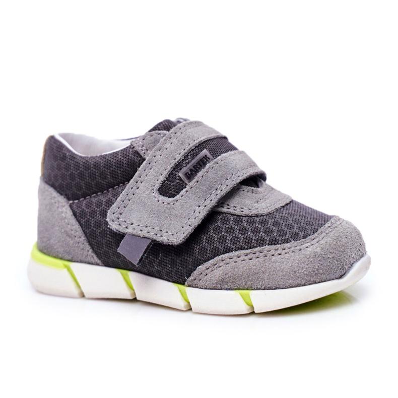 Bartek S.A. Pantofi copii pentru băieți Gri Bartek T-71949 / SA1