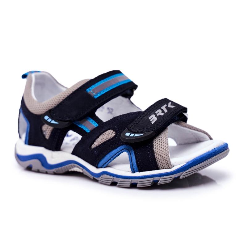 Bartek S.A. Sandale pentru copii pentru băieți Profilactic Bartek T-16176-7 / 0KP albastru marin